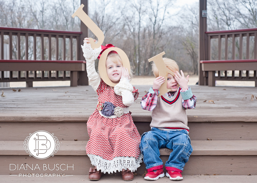 Plano Christmas Sibling Photography 7